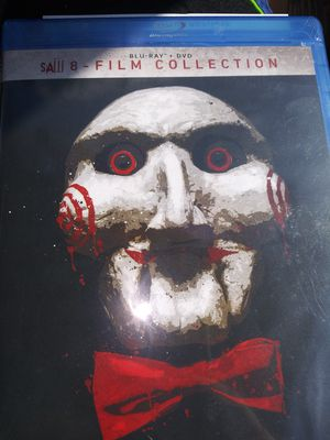 Saw 8 film collection Blu-ray DVD for Sale in Graham, NC