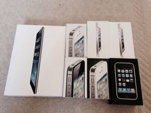 Lots of Iphone and Ipad Boxes for Sale in Los Angeles, CA