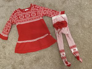 Baby girl Christmas outfit for Sale in Houston, TX