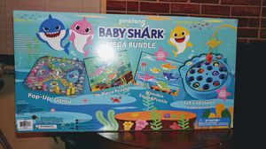 Pinkfong Baby Shark Mega Bundle with Puzzles and Games for Kids for Sale in St. Petersburg, FL
