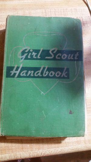 Vintage oraginal 1952 Girl Scout Handbook for Sale in AR, US