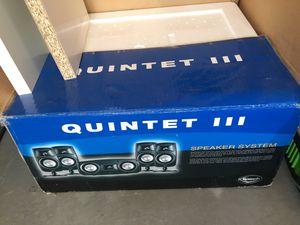 Klipsch quintet 3 surround speakers for Sale in Niwot, CO