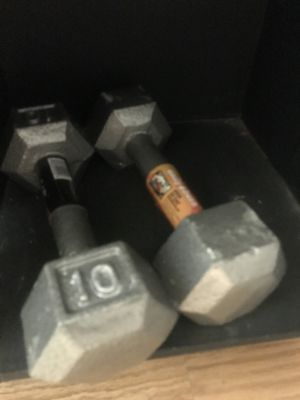 10 pound weights for Sale in Knoxville, TN