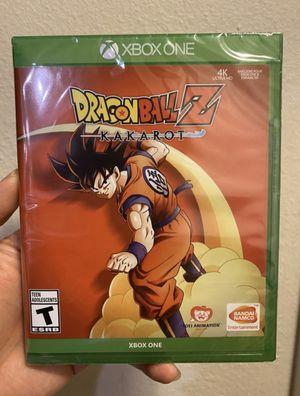 Dragonball Z: Kakarot for XboxOne (XB1) for Sale in Ontario, CA