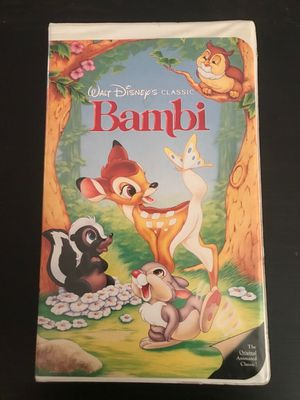 Bambi VHS for Sale in Chicago, IL