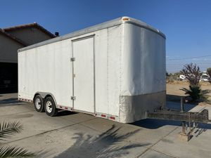 2006 20'x8' enclosed trailer for Sale in Hesperia, CA