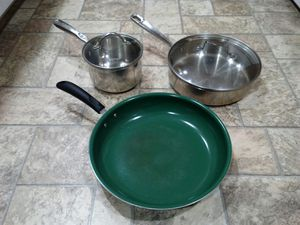 Various Pot and Pans (Can purchase individually) for Sale in Butte, MT