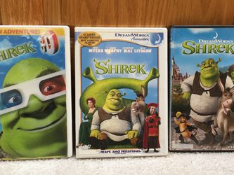 Shrek DVDs 3 for Sale in Issaquah,  WA