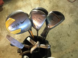Golf clubs with three nice drivers for Sale in Los Angeles, CA