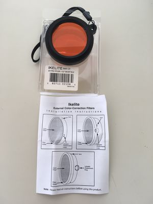 Ikelite External color correction filter. for Sale in Pompano Beach, FL