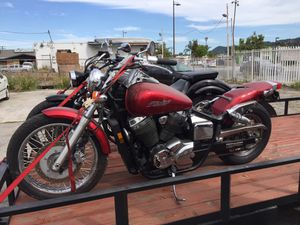 PARTING OUT: Honda 2007 VT750 750 Shadow Spirit Motorcycle Forks Wheel Rim Speedometer Motor Engine Stator Flywheel Brakes Seat ECU Wire Harness Coil for Sale in Aurora, CO
