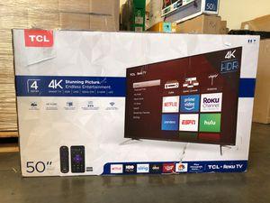 "50"" TCL roku smart 4K led uhd hdr tv for Sale in Norwalk, CA"