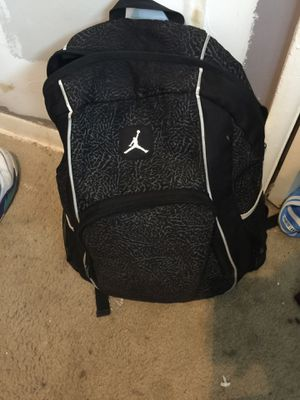 Black Jordan Backpack for Sale in Catonsville, MD