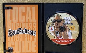 PS2 GTA San Andreas for Sale in Queens, NY