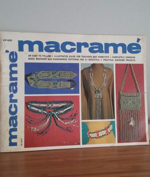 Macrame Guide HP400 By Lynn Pauline for Sale in Germantown, MD