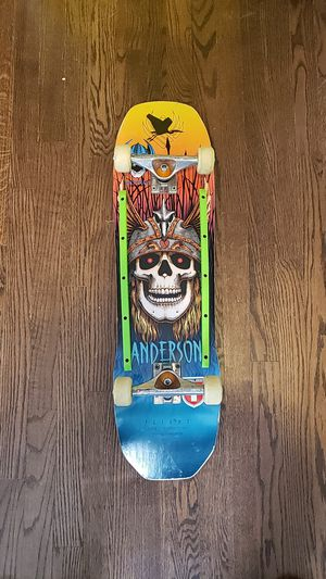 Andy Anderson powell Peralta skateboard for Sale in Falls Church, VA