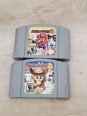 Nintendo 64 Cartridge Games *Repro Mario Party 2 & 3 $15 ea. for Sale in Phoenix, AZ