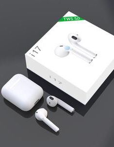 New in box Generic Apple style ear pod earphone Bluetooth headset rechargeable with charging case like airpods for Sale in Covina, CA