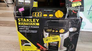NEW Stanley FatMax JumpIt 700A : 350Amp Jump Starter w/ Compressor: njft tools for Sale in Burlington, NJ