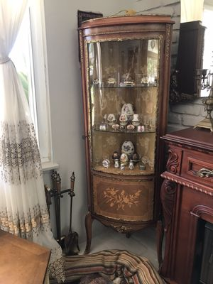 Antique corner china cabinets for Sale in Los Angeles, CA