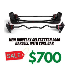 Bowflex Barbell 2080 (New) for Sale in Hayward, CA