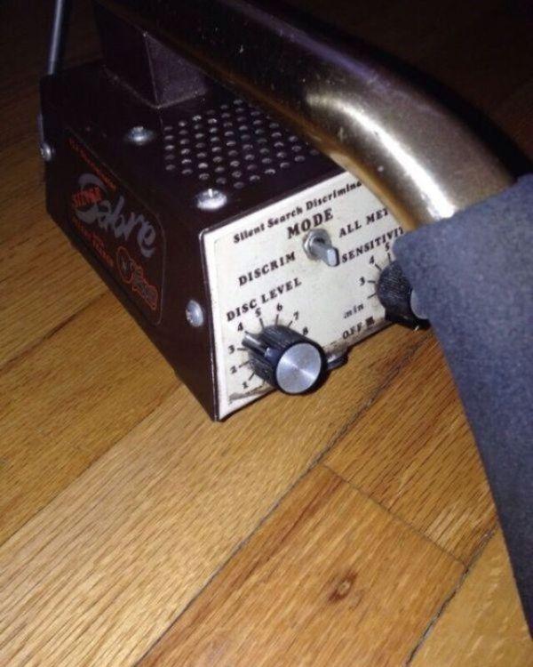 Vintage tesoro silver saber metal detector fun working for Sale in  Dearborn, MI - OfferUp