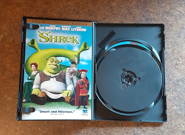 Shrek Special Edition Two-Disc DVD Movie
