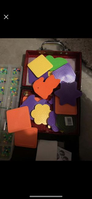 Iron stencils and beads for Sale in Mount Airy, MD