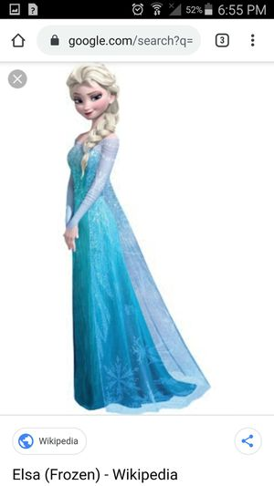 Frozen Elsa Costume for Sale in Northglenn, CO
