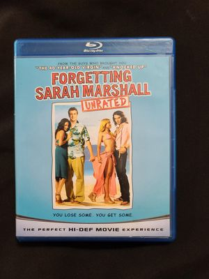 Forgetting Sara Marshall Unrated Blu-ray for Sale in Hollywood, FL