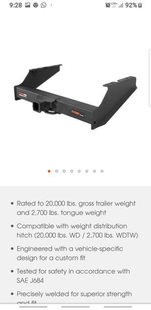 Trailer Hitch Ford F-250, F-350, F-450 Commercial Duty for Sale in Las Vegas, NV