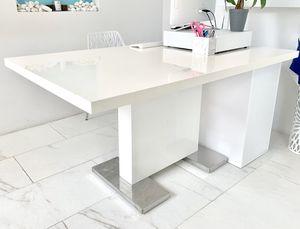 Modern White Dining Table for Sale in Alexandria, VA