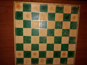 Vintage Italian Leatherette Chess Board for Sale in Chesapeake, VA