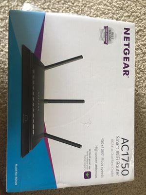Netgear Smart WiFi Router With Dual Band Gigabit for Amazon Echo - AC1750 for Sale in Santa Clara, CA