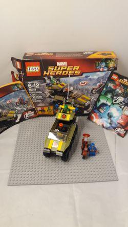 Lego Marvel Superheros Captain America vs. Hydra for Sale in South Attleboro,  MA