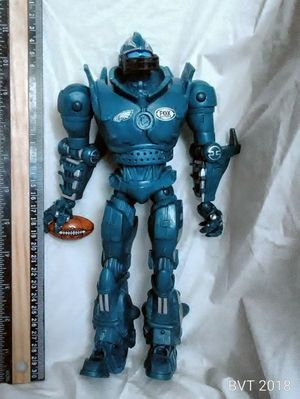 Cletus green robot toy poseable Fox sports figure for Sale in Oaklyn, NJ