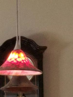 Hand blown glass lights. Set of three. for Sale in Billerica, MA