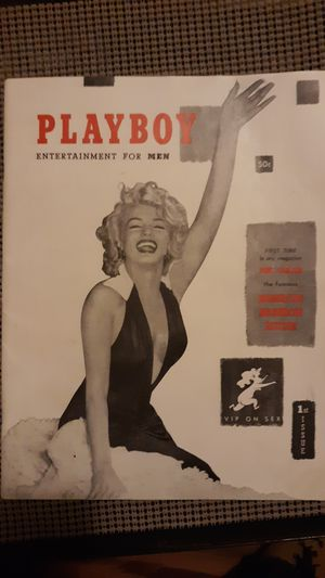 1953 1st issue playboy magazine with marilyn monroe centerfold for Sale in West Frankfort, IL