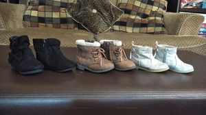 Baby girl boots size 5 for Sale in Manchester, CT
