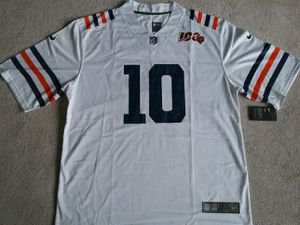 (3XL) Chicago Bears Trubisky 100th Jersey Size 3XL for Sale in Chicago, IL