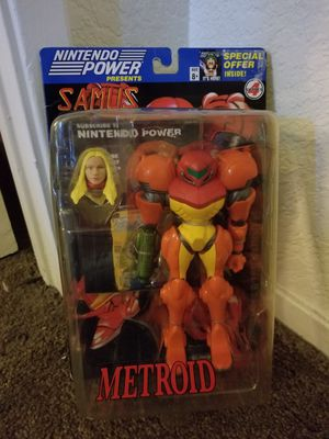 Nintendo Power Samus Metroid Set. NEVER OPENED for Sale in Antioch, CA
