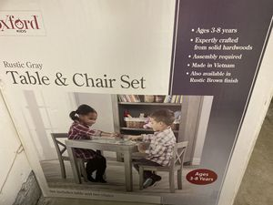 BRAND NEW kids table & chairs set for Sale in San Jose, CA