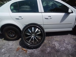 "20"" and 22"" wheels with good tires for Sale in Pompano Beach, FL"