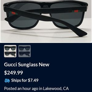 Gucci Sunglasses for Sale in Alhambra, CA