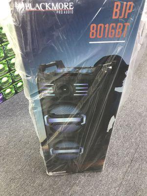 Blackmore pro audio BJP 8016BT brand new sealed for Sale in Oak Lawn, IL