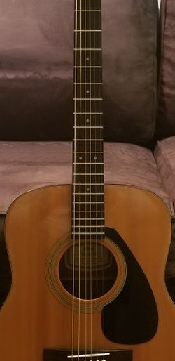 "Yamaha ""Burny Sanders"" Acoustic Guitar for Sale in Alexandria,  VA"