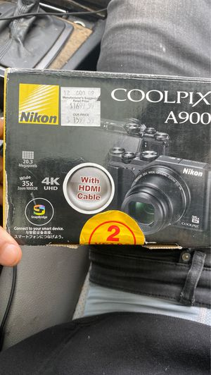 Nikon coolpix A900 for Sale in Newark, NJ