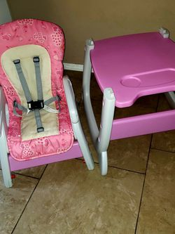 Baby Girls 3 In 1 Highchair for Sale in Tigard,  OR
