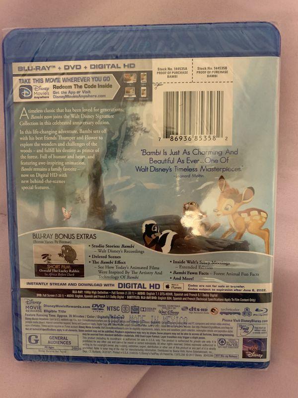Bambi Anniversary Edition DVD