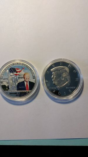 2 Donald Trump proof Silver Statue liberty 1oz Coins for Sale in Cape Coral, FL